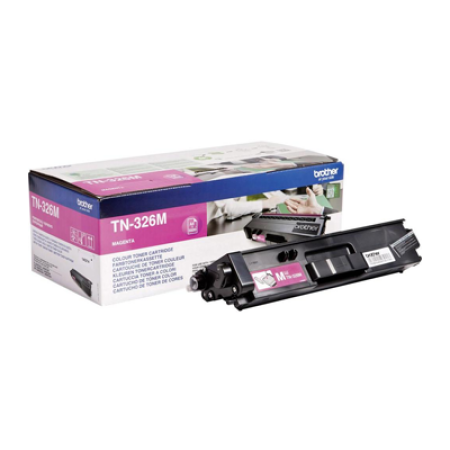 Brother TN-326M Magenta High Capacity Toner Cartridge