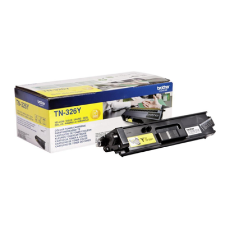 Brother TN-326Y Yellow High Capacity Toner Cartridge