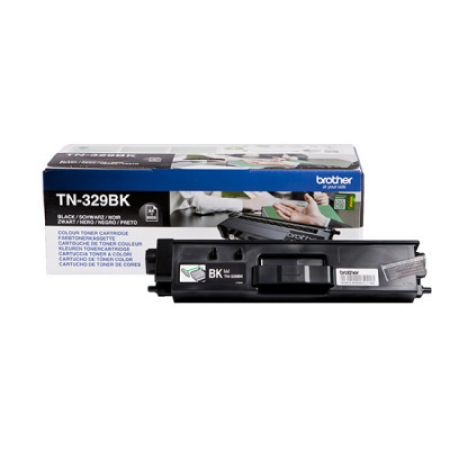 Brother TN-329BK Black Extra High Capacity Toner Cartridge