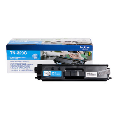 Brother TN-329C Cyan Extra High Capacity Toner Cartridge