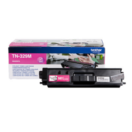 Brother TN-329M Magenta Extra High Capacity Toner Cartridge