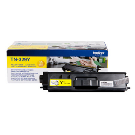 Brother TN-329Y Yellow Extra High Capacity Toner Cartridge