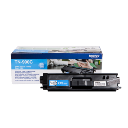 Brother TN900C Cyan Toner Cartridge