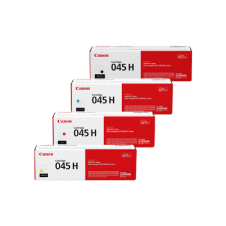 Canon 045H High Capacity Toner Cartridge Multipack - 4 Toners