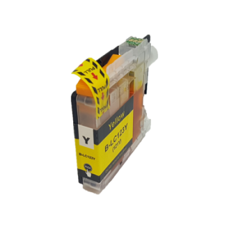 Compatible Brother LC123 Ink Cartridge Yellow