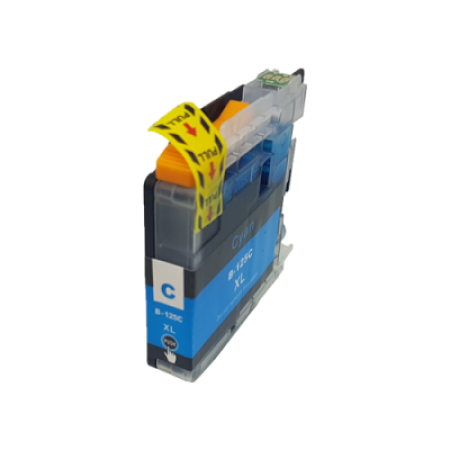 Compatible Brother LC125XL Ink Cartridge Cyan