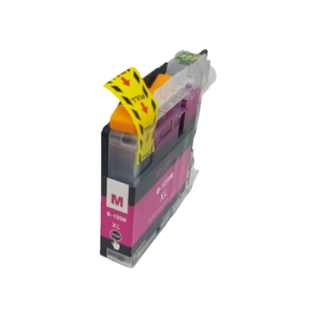 Compatible Brother LC125XL Ink Cartridge Magenta