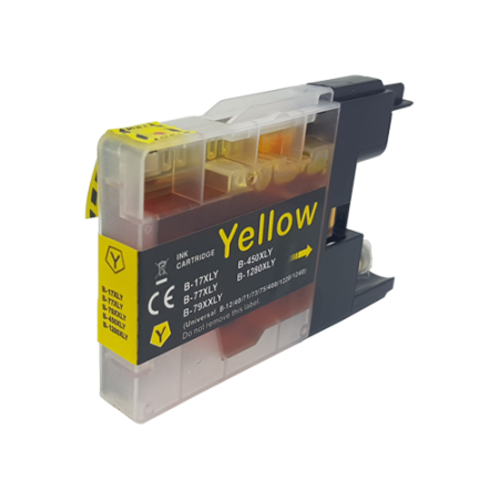 Compatible Brother LC1280 XL Yellow Ink Cartridge