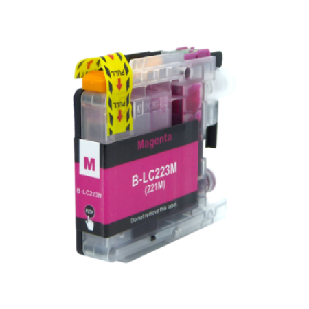 Compatible Brother LC223M Ink Cartridge Magenta