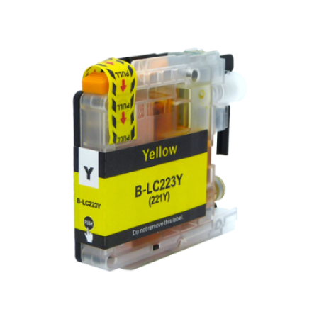 Compatible Brother LC223Y Ink Cartridge Yellow