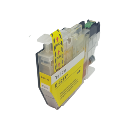 Compatible Brother LC3211Y Ink Cartridge Yellow High Capacity