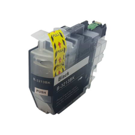 Compatible Brother LC3213BK Ink Cartridge Black High Capacity