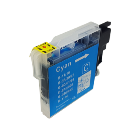 Compatible Brother LC980 Ink Cartridge Cyan