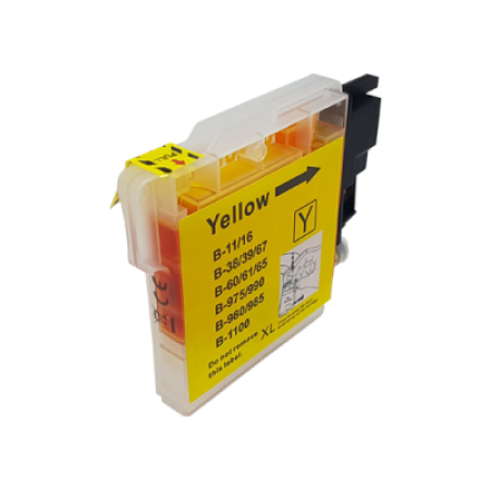 Compatible Brother LC980 Ink Cartridge Yellow