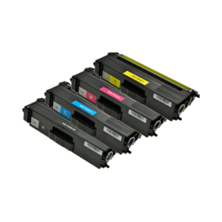 Compatible Brother TN-329 Extra High Capacity Toner Cartridge Multipack - 4 Toners
