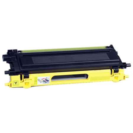 Compatible Brother TN130Y Yellow Toner Cartridge
