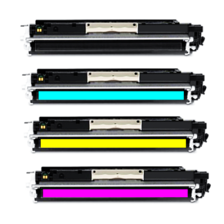 Compatible HP 314A Q756A Series Toner Cartridge Multipack - 4 Toners