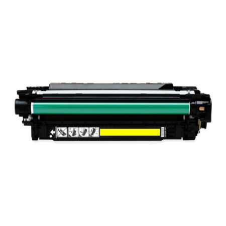Compatible HP 504A CE252A Yellow Toner Cartridges