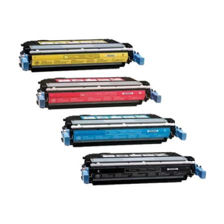 Compatible HP 641A C9720A Toner Cartridge Multipack - 4 Toners