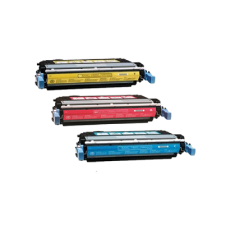 Compatible HP 641A Toner Cartridge Colour Pack - 3 Toners
