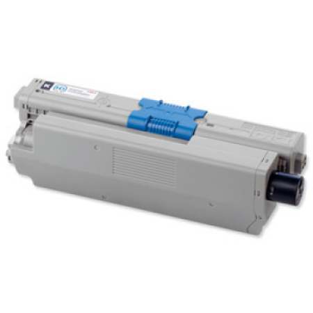 Compatible OKI 44469804 Toner Cartridge Black High Capacity