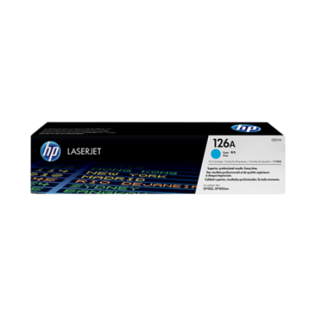 HP 126A CE311A Cyan Toner Cartridge