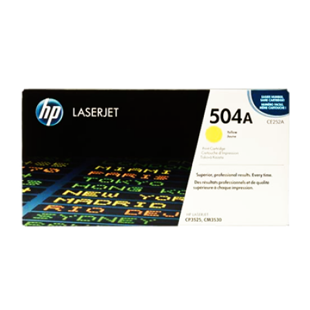 HP 504A CE252A Yellow Toner Cartridges