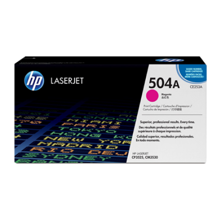 HP 504A CE253A Magenta Toner Cartridges
