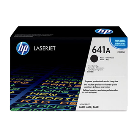 HP 641A C9720A Black Toner Cartridge