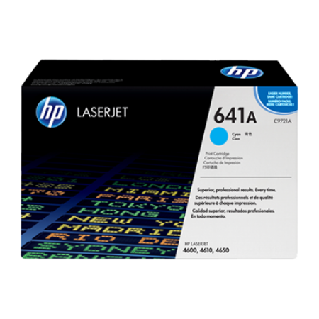 HP 641A C9721A Cyan Toner Cartridge
