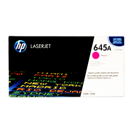 HP 645A C9733A Magenta Toner Cartridge
