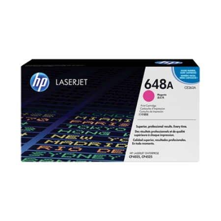 HP 648A CE263A Toner Cartridge Magenta Original
