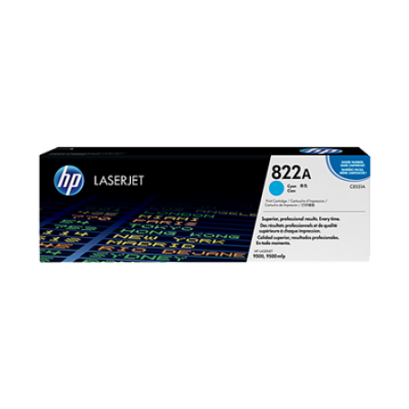 HP 822A C8551A Cyan Toner Cartridge