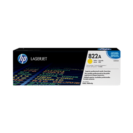 HP 822A C8552A Yellow Toner Cartridge