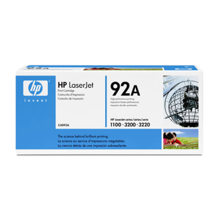 HP 92A C4092A Black Toner Cartridge