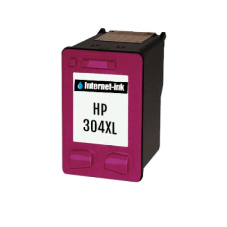 Compatible HP 304XL Colour Ink Cartridge High Capacity C/M/Y 18ml