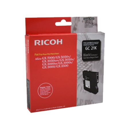 Ricoh 405532 Gel Ink Cartridge Black Original