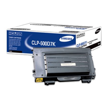 Samsung CLP-500D7K Toner Cartridge Black