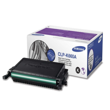 Samsung CLP-K660A Black Toner Cartridge