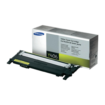 Samsung CLT-Y406S Yellow Toner Cartridge